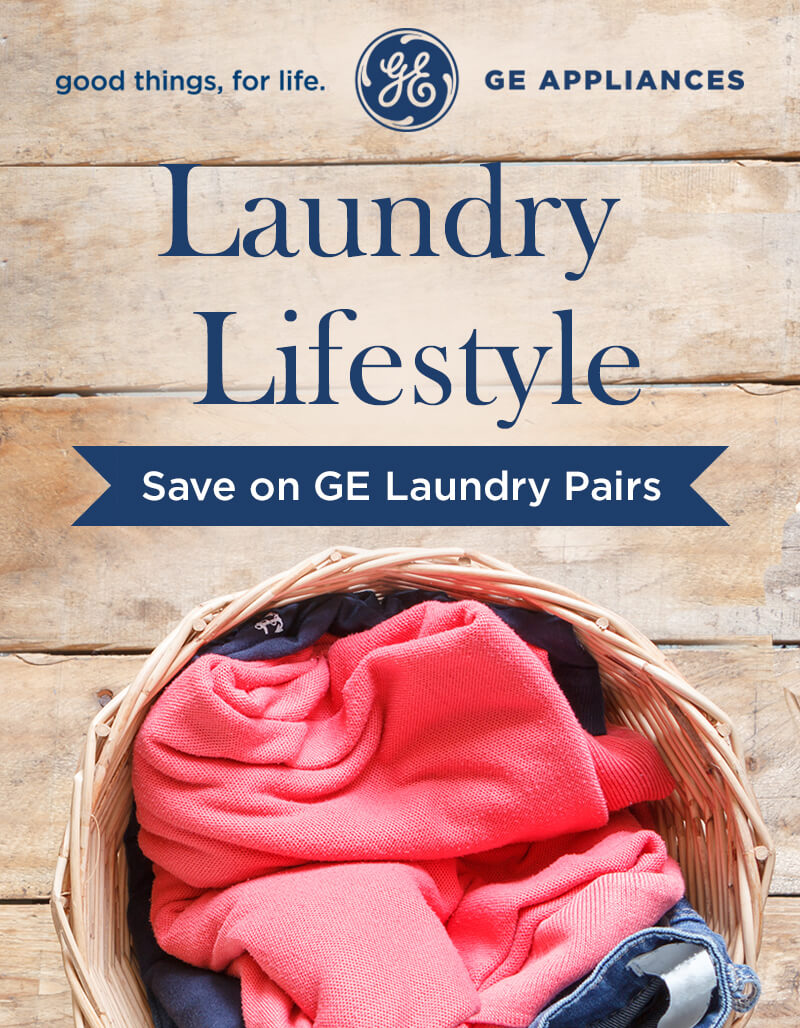 Save on GE Laundry Pairs